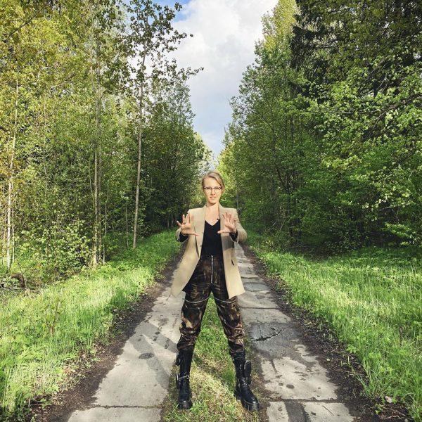 Ксения Собчак сломала нос - или ей кто-то помог?