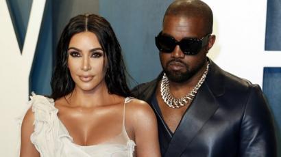 Ким Кардашьян переживает за мужа