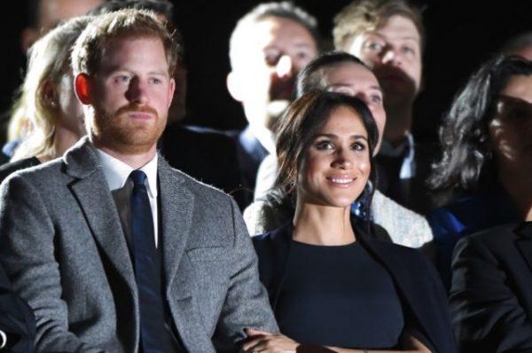 """Меган Маркл и принц Гарри на церемонии открытия """"Игр непокоренных"""""""