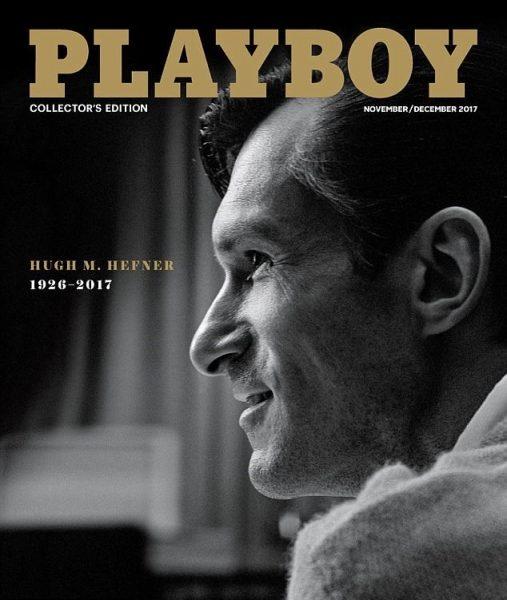 На обложку Playboy поместили Хью Хефнера