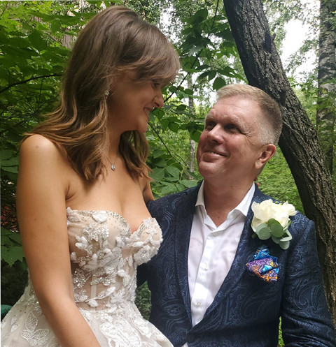 Андрей Колесников и Дарья Донскова поженились 29-го июля