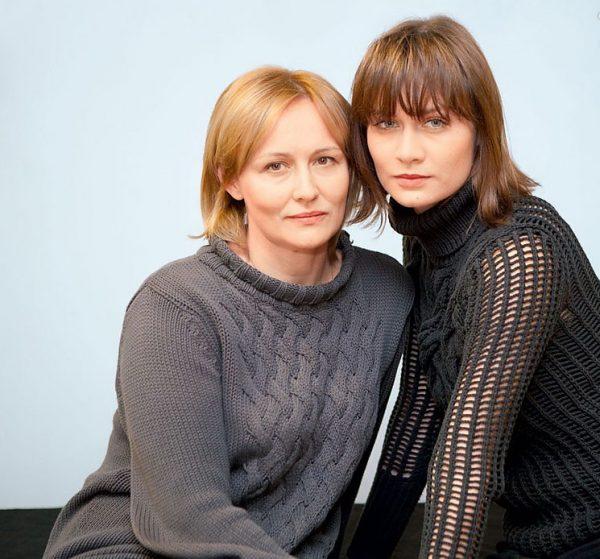 Мария Машкова с мамой Еленой Шевченко