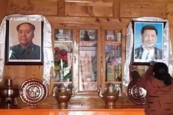 В Китае требуют заменить религиозные иконы на портреты партийных лидеров