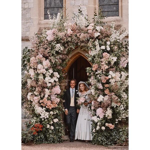 принцесса Беатрис и Эдоардо Мапелли- Моцци, свадьба