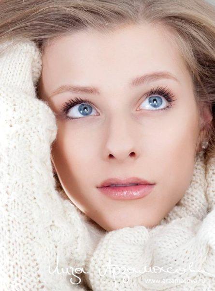 Красивый взгляд Лизы Арзамасовой
