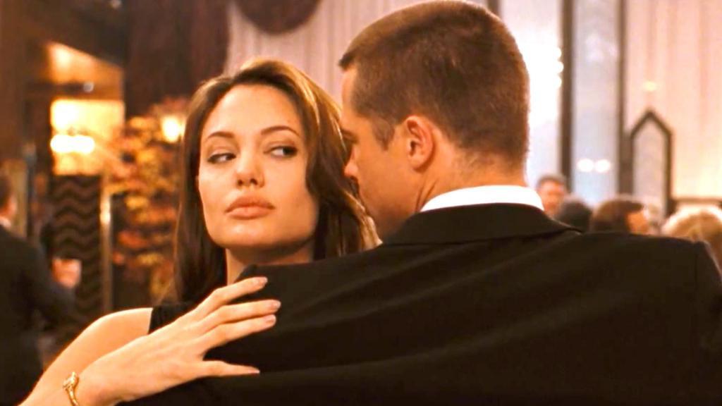 "кадр из фильма ""Мистер и миссис Смит"""