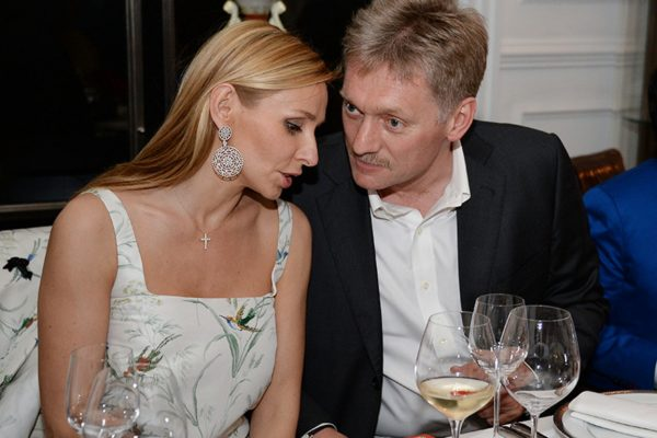 Дмитрий Песков и Татьяна Навка поженились в 2015-ом году