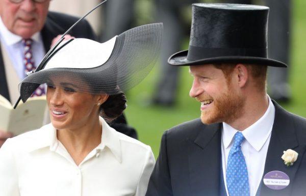Меган Маркл и принц Гарри появились на открытии Royal Ascot