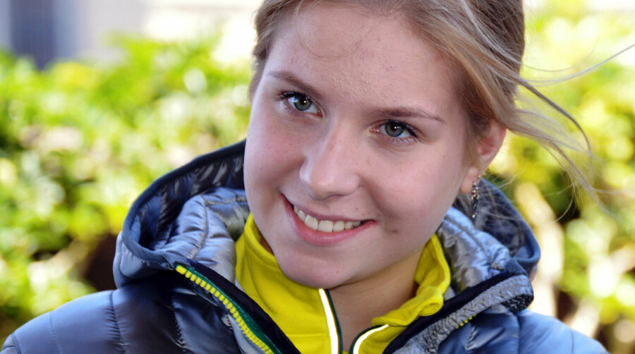 20-летняя фигуристка Екатерина Александровская выпрыгнула с 6-го этажа из-за несчастной любви