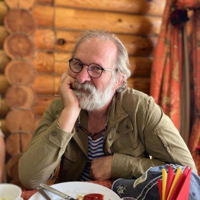 Федор Добронравов отдыхает в Астраханской области