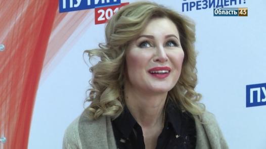 Вика Цыганова хочет стать губернатором
