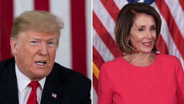 Трамп и Нэнси Пелоси придумывают друг другу прозвища