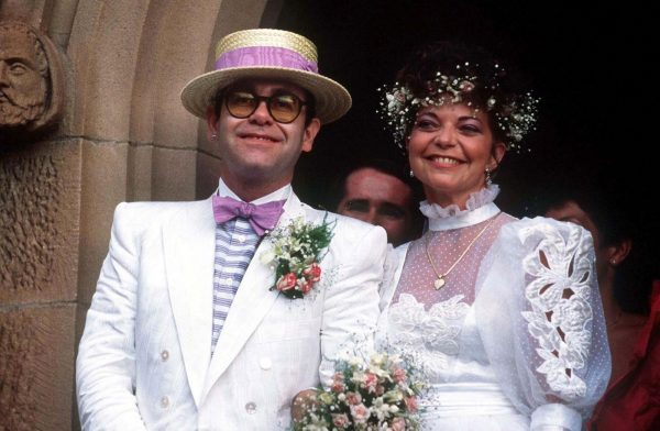 Элтон Джон и Рената Блауэл были женаты 4 года