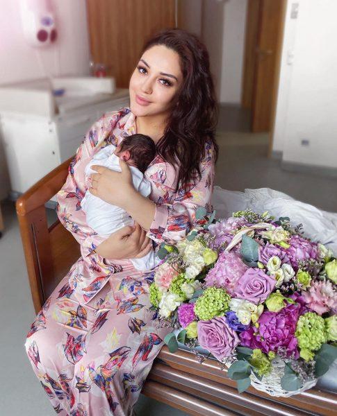 Красавица Гоар Аветисян впервые стала мамой