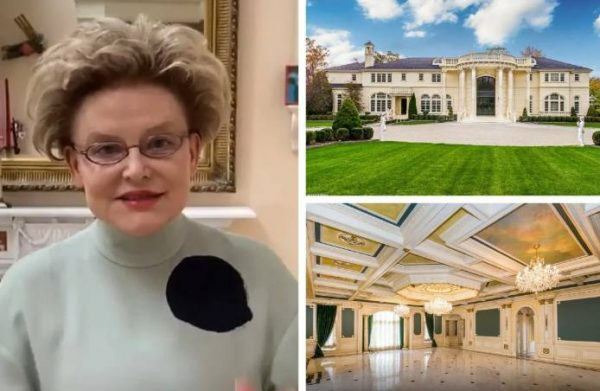 Елена Малышева так много работает, что купила в США поместье за миллиард