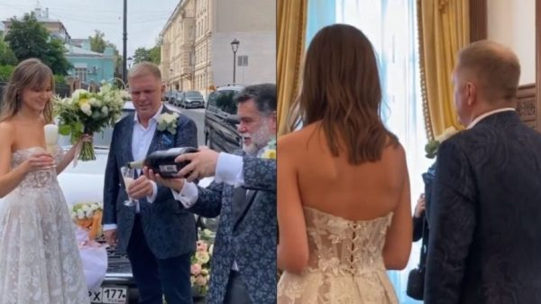 53-летний летописец Путина женился на девушке вдвое моложе