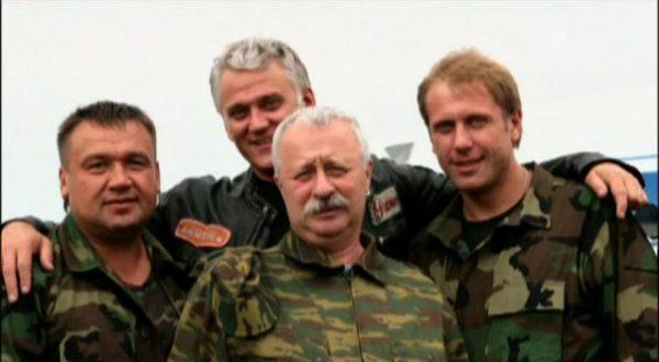 Леонид Якубович, Маршал с бойцами в Чечне,