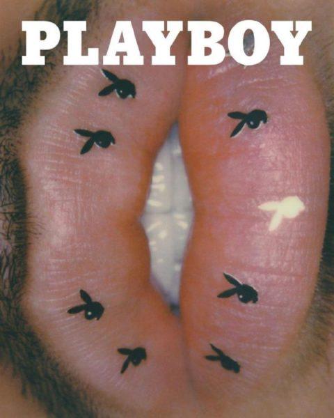 На обложку Playboy поместили мужчину