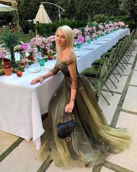 Яна Рудковская посетила неделю моды в Париже