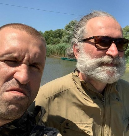 Фкдор Добронравов отрастил бороду