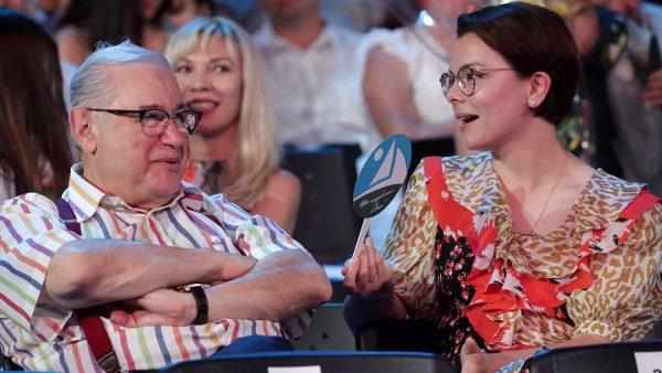 Татьяна Брухунова и Евгений Петросян на Новой Волне в Сочи