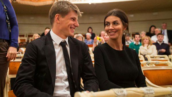 Аршавин женился на Алисе Казьминой