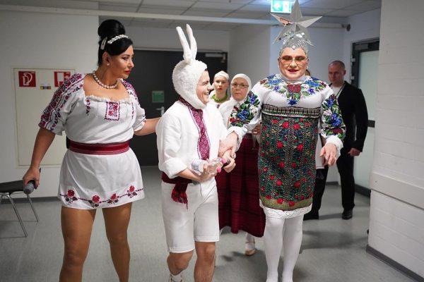 Верка Сердючка провела концерт в Штутгарте