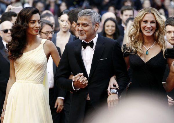 Брэд Питт и Джордж Клуни ссорятся из-за одной женщины