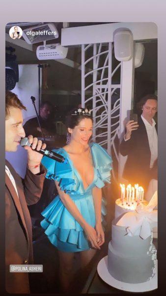 Полина Аскери, день рожденья,