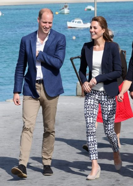 Кейт Мидлтои и принц Уильям