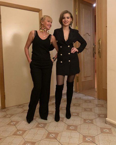 Светлана Лазарева с дочерью Натальей, photo: instagram.com