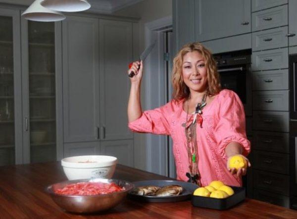 Анита Цой - настоящая волшебница на кухне