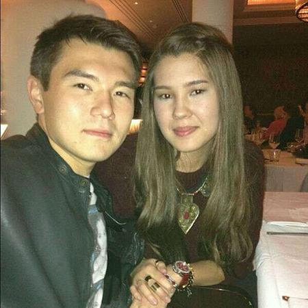 Айсултан с женой Алимой