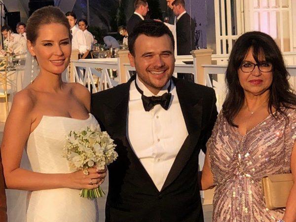 Свадьба Гавриловой и Агаларова