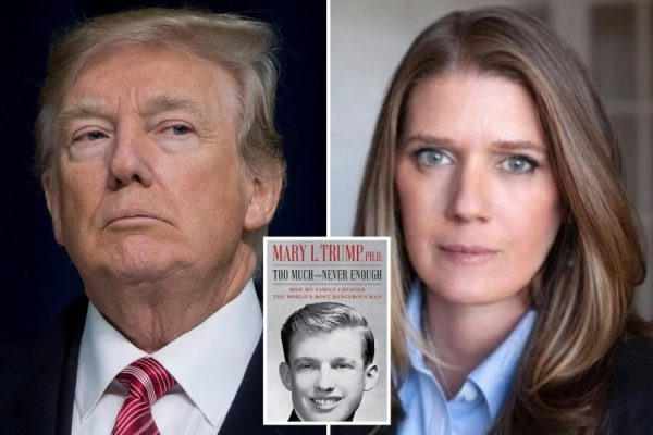 """В своей книге Мэри Трамп написала, что у Дональда присутствуют все """"9 признаков нарциссизма"""":)"""