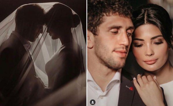 Заурбек и Мадина в фотосессии перед свадьбой счастливые и влюбленные
