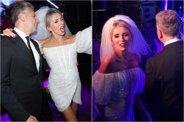 Снимки со свадьбы уставших Светланы Бондарчук и Сергея Харченко