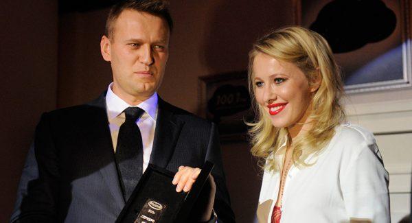 Алексей Навальный, Ксения Собчак
