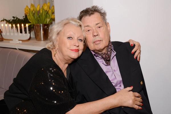 Николай Караченцев с женой Людмилой Поргиной