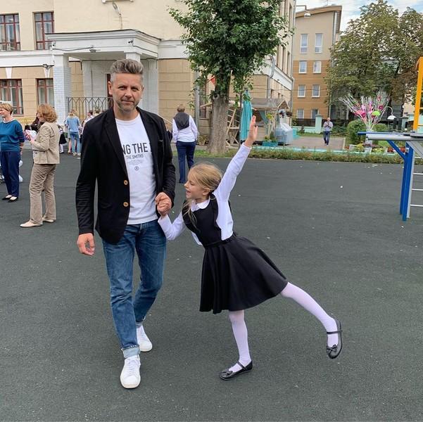 У Сергея Харченко 7-летняя дочка Юнна от первого брака