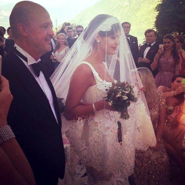Свадьба Оболенцевой и Исхакова