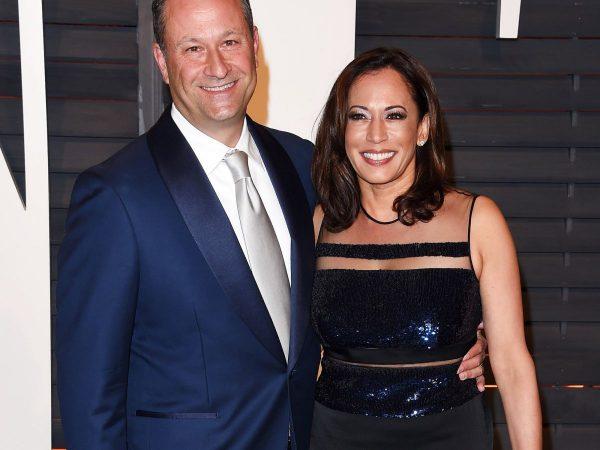 Камала Харрис с мужем