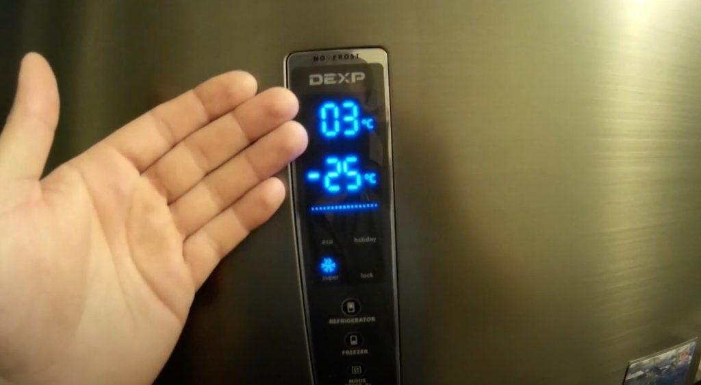холодильник DEXP RF-CN320HA/S