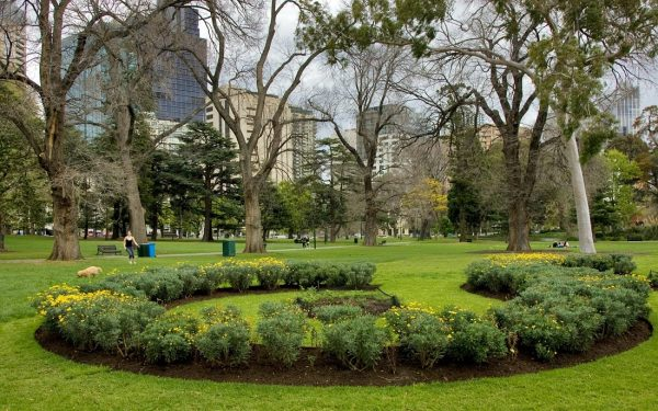 Карлтонские сады, Мельбурн