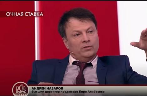 """Андрей Назаров на шоу """"Пусть Говорят"""""""