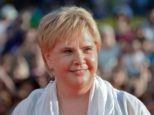 Татьяна Догилева в белом платке