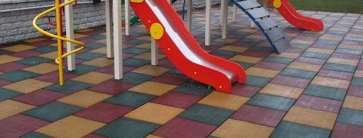 Идеальное и долговечное мощение - тротуарная резиновая плитка