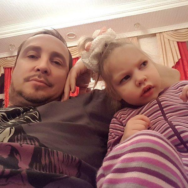 Данко с дочерью Агатой
