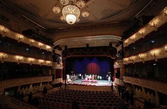 Прощание с Борисом Клюевым в Малом театре