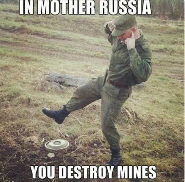 Россия по представлениям американцев (мемы)
